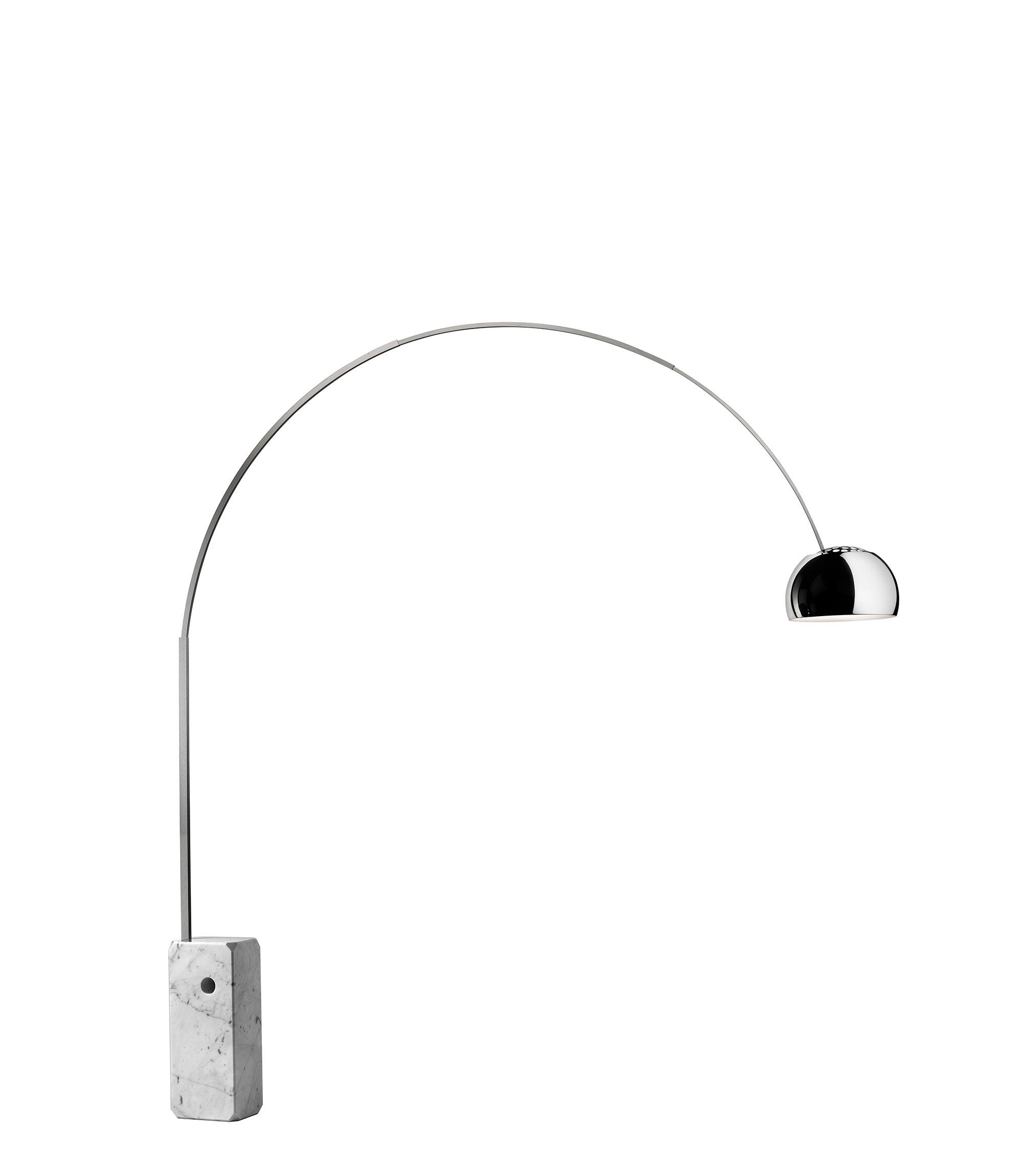 icone del design italiano lampada Arco di Flos