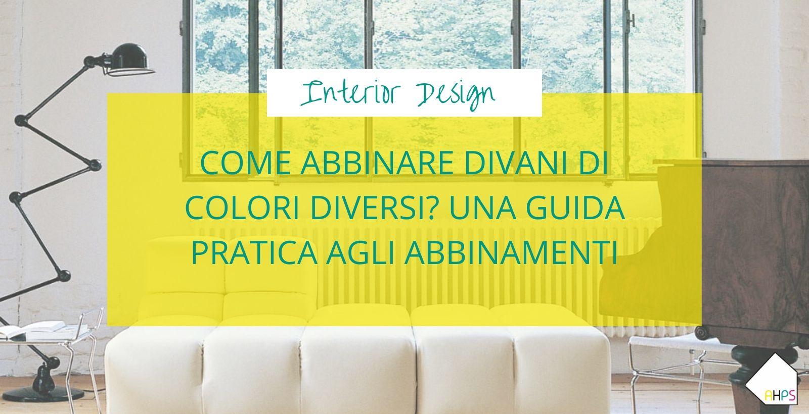 abbinare divani di colori diversi copertina