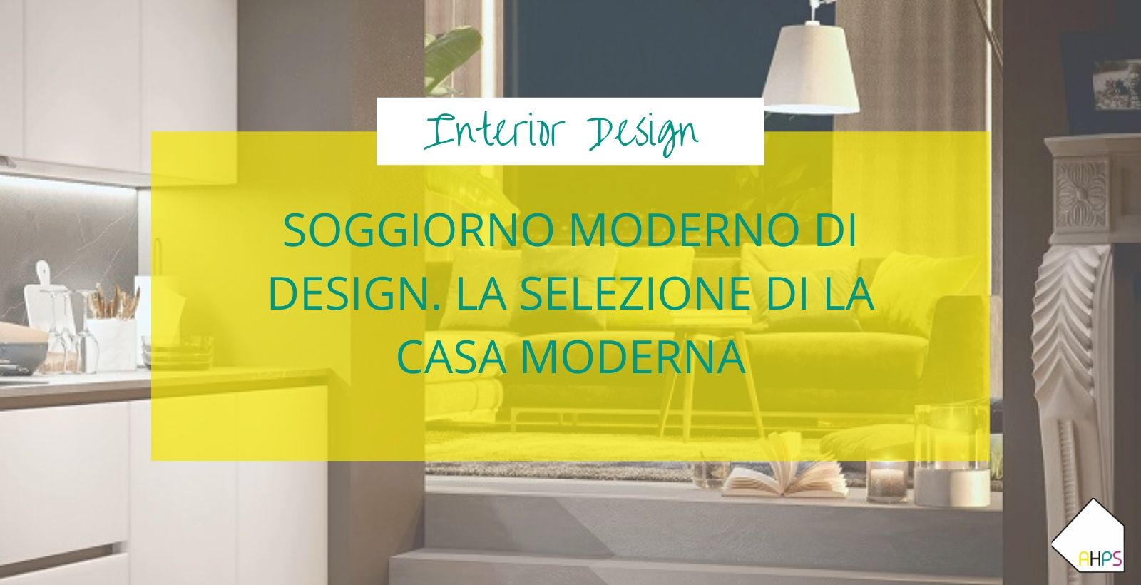 soggiorno moderno di design