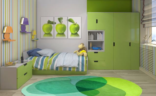 Sonya Winner Rug Studio,tappeto tondo colorato