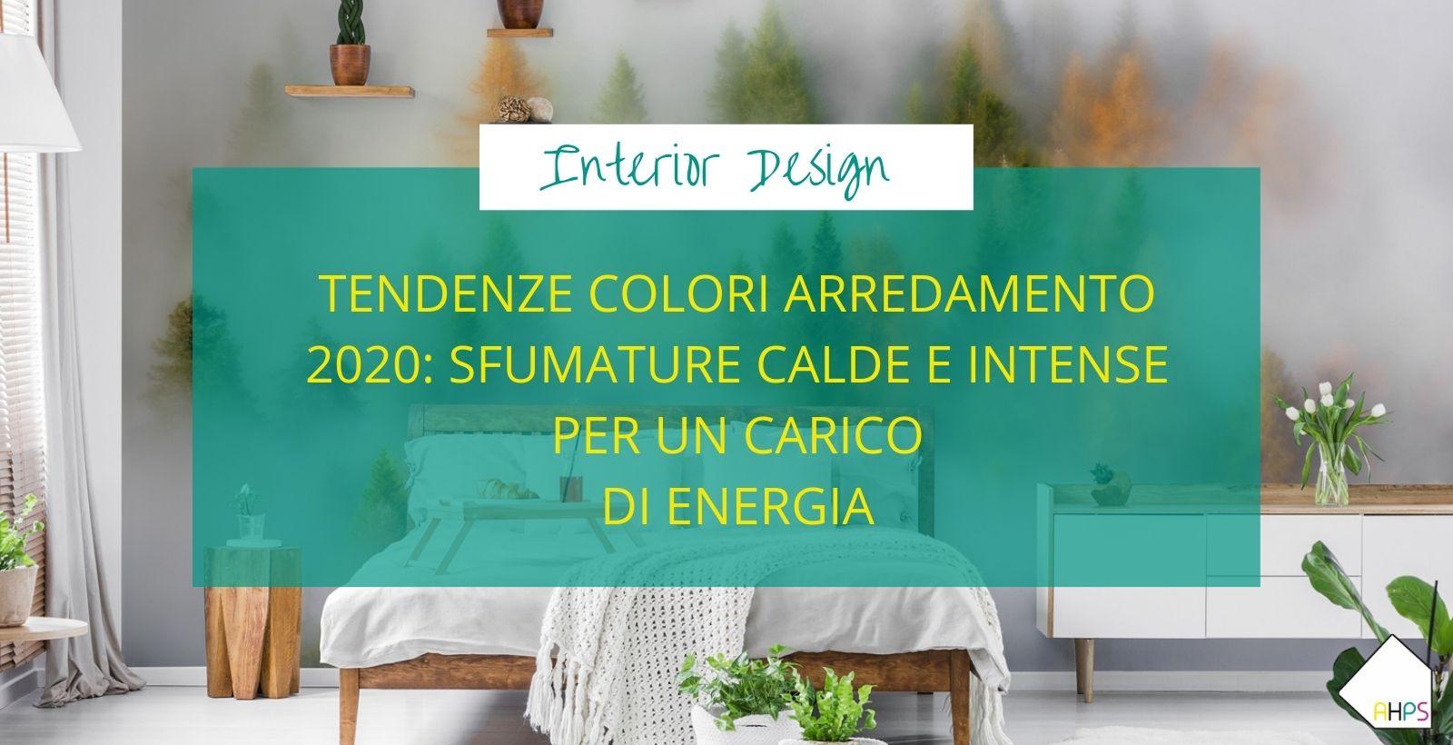 Tendenze colori arredamento 2020